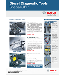 Diesel Diagnostic Tools Brochure Image