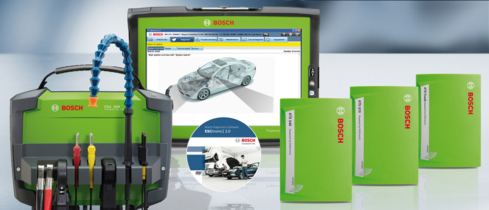 Bosch Engine Analysers