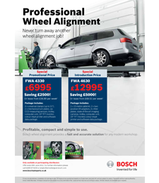 Wheel Alignment Brochure Image